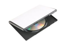 CD/DVD box Royalty Free Stock Photo