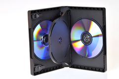 CD/DVD box Royalty Free Stock Image