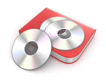 Cd or Dvd Box Stock Photography