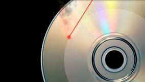 CD DVD burning stock video