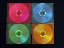 CD, DVD-caixa Imagens de Stock