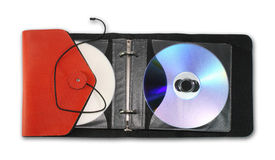 CD/DVD case Stock Image