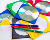 CD/DVD cd Zdjęcie Royalty Free