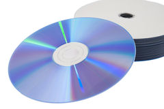 CD and DVD Stock Photos
