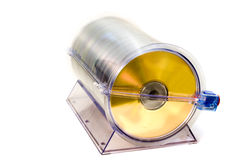 CD-DVD Container Royalty Free Stock Photo