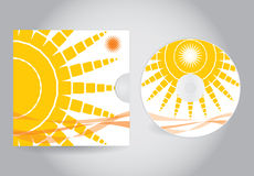 CD or DVD cover Royalty Free Stock Photo