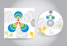 CD or DVD cover Royalty Free Stock Photos