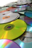 CD and DVD (data) background Royalty Free Stock Image