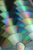 CD and DVD data background Royalty Free Stock Photography