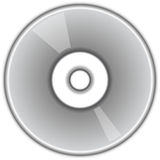 CD DVD Disc. CD or DVD Disc. Sharp, simple and to the point image with a slight shade to help Stock Photography