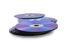 CD or DVD disc. Royalty Free Stock Image