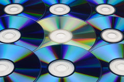 Cd dvd disc background Royalty Free Stock Photography
