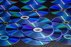 CD or DVD disc Royalty Free Stock Photo