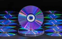CD or DVD disc Stock Photos