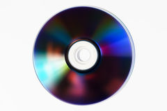 CD DVD disc on table background Stock Images