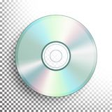 CD, DVD Disc Vector  Royalty Free Stock Images