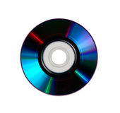 CD DVD Disk. Isolated with clipping path royalty free stock images