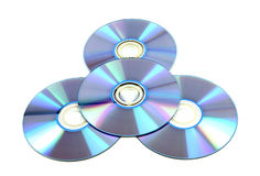 CD & DVD disk Royalty Free Stock Images
