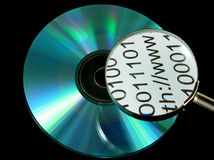CD/DVD disk Stock Photos