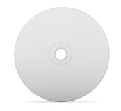 CD DVD disk. Blank CD or DVD on white background. Clipping path included for easy selection Stock Photos