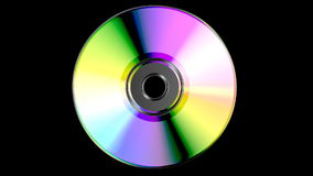 CD or DVD stock footage
