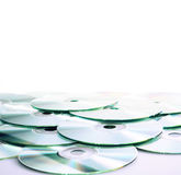 CD (DVD) disks Stock Images