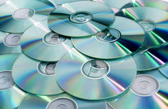 CD (DVD) disks Royalty Free Stock Image
