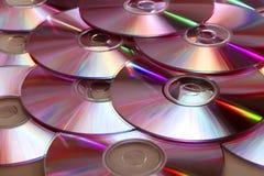 CD (DVD) Disks Royalty Free Stock Photo
