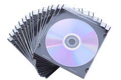 CD DVD doos Stock Afbeelding
