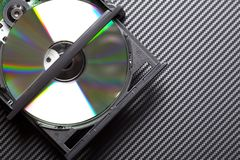 CD or DVD drive Stock Images
