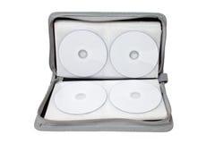 CD/DVD geval Royalty-vrije Stock Foto