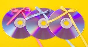 CD/DVD gift Stock Photos