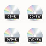 CD-DVD icon Stock Photography
