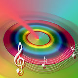 CD DVD internet music Royalty Free Stock Photo