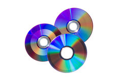 CD and DVD Stock Images