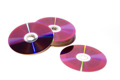 CD and DVD Stock Photography