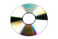CD/DVD isolated. On a white background stock photos