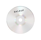 CD or DVD isolated Royalty Free Stock Photography