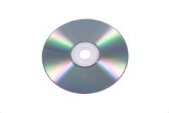 CD/DVD isplated no branco Imagem de Stock