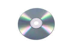 CD/DVD isplated su bianco Immagine Stock