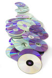 CD and DVD Royalty Free Stock Photo