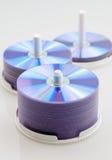 CD DVD mellanrum för diskett Arkivbild