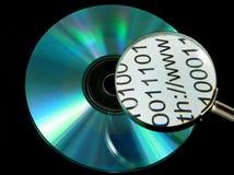 CD/DVD Platte Stockfotos