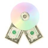 Cd dvd Platte Lizenzfreie Stockbilder