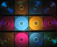 CD, DVD-rectángulo Imagenes de archivo