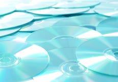 CD的dvd rom 免版税库存照片