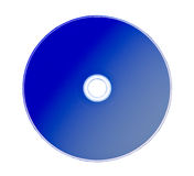 Cd or DVD rom isolated Stock Photography