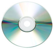 Cd or DVD rom isolated Stock Image
