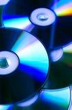 CD的dvd s 库存图片