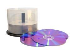 cd dvd s för fall Royaltyfri Bild
